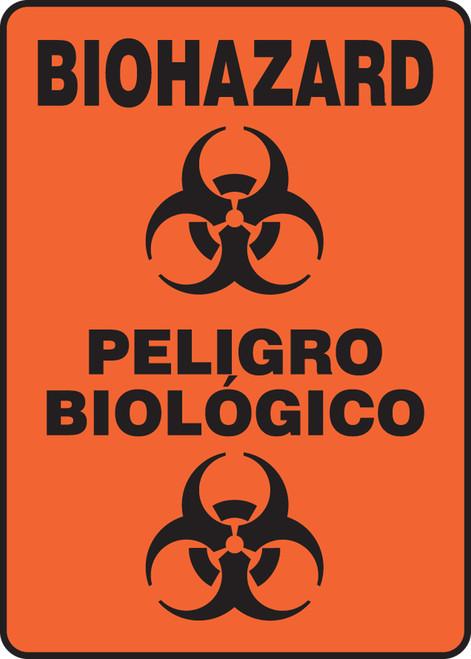 SBMBHZ530 Biohazard spanish safety sign
