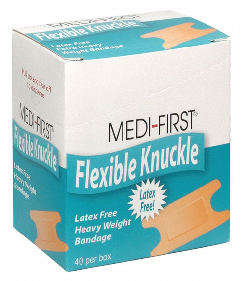 Flexible Knuckle Bandages - Latex Free - 40/box