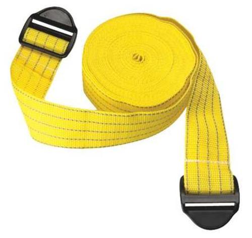 "Park Sentry Reflective Locking Strap - 100"" - Yellow (Set of 2)"