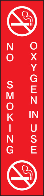 Safety Sign: No Smoking - Oxygen In Use