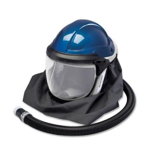 Allegro 9904-HCW Deluxe SAR Shield & Welding Helmet w/ High Pressure Temperature Controller (Hansen Fitting), ADF Lens