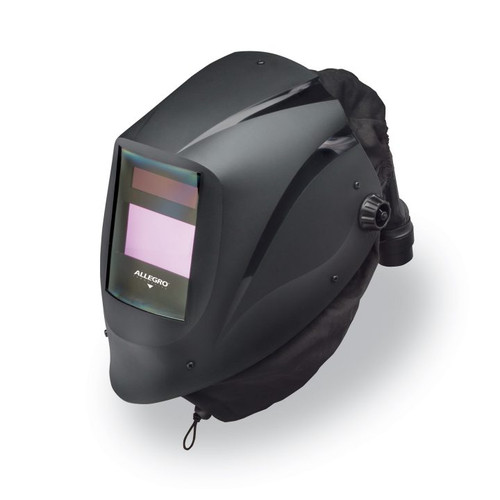 Allegro 9935-BHTX54V EZ Air Black Welding Helmet w/Air Train & X54V ADF