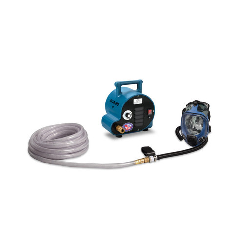 Allegro 9200-02A Two-Worker Full Mask Ambient Air System, 50' Airline Hoses