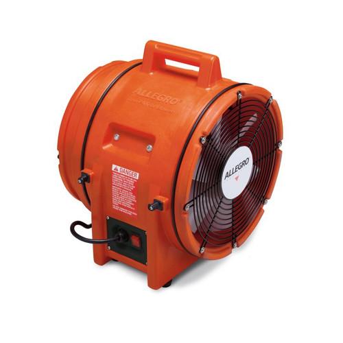 """Allegro 9543-E 12"""" Axial AC Plastic Blower, 220V/50 Hz"""