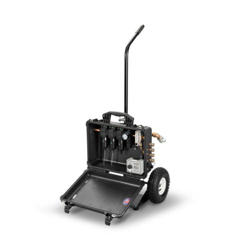 Allegro 9878-EFC 8-Worker Breathing Air Filtration Panel Cart