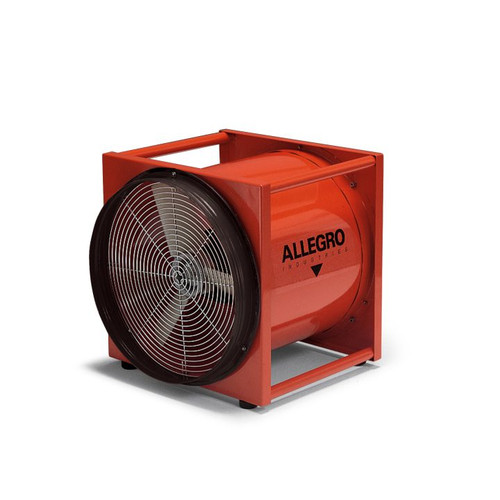 "Allegro 9515-50EXE 16"" Axial Explosion Proof High Output Metal Blower"