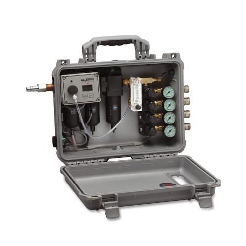 Allegro 9874-MR Multi-Regulator Filtration Panel, Four Port