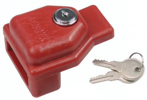 Accuform KDD475 - Glad Hand Trailer Lockouts - Keyed Differently