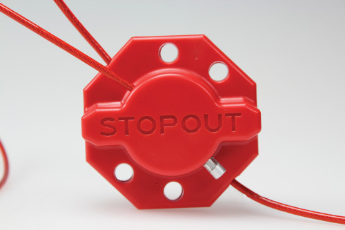 Accuform KDD637 - STOPOUT ® Twist 'n Lock Cinch Lockout Hasp - 6' Cable