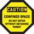Caution - Confined Space Do Not Enter Without Obtaining Permit - Re-Plastic - 12'' X 12''