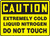 Caution - Extremely Cold Liquid Nitrogen Do Not Touch