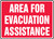 Area For Evacuation Assistance 1