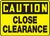 Caution - Maximum Height ___ Ft ___ In Sign