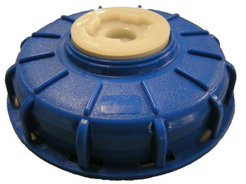 """IBC Cap 6"""" with 2"""" Buttress Plug Blue"""