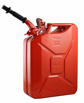 Jerry Can 20L Red EPA/CARB-DOT-OSHA APPROVED