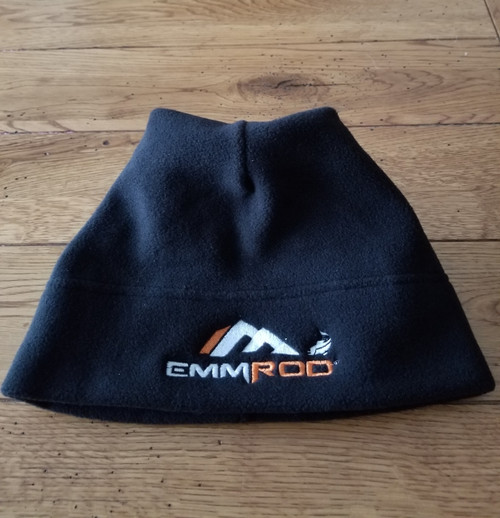 Emmrod beanies have arrived! All Black fleece made by Port Authority!