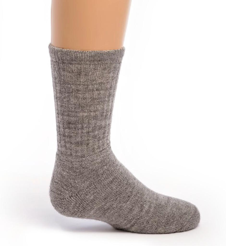 Kid's Outdoor Alpaca Socks Side