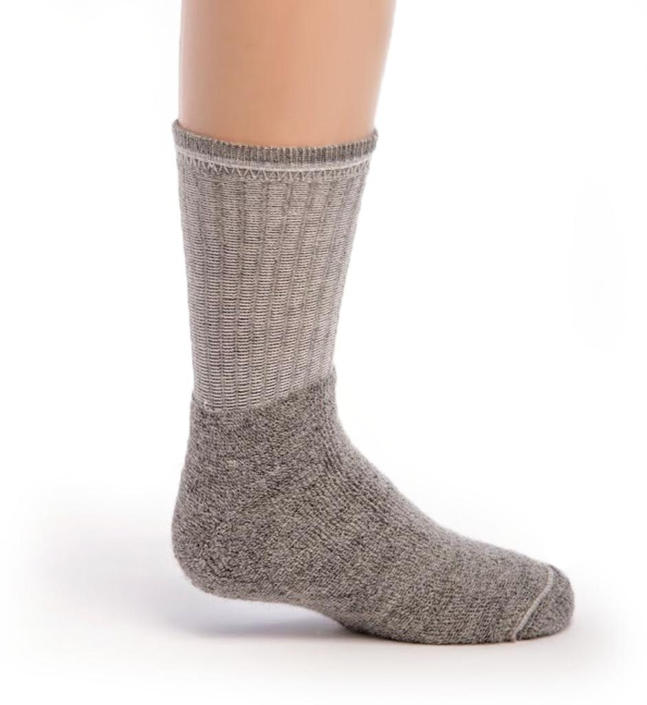 Kid's Outdoor Alpaca Socks Inside - Terry lined foot