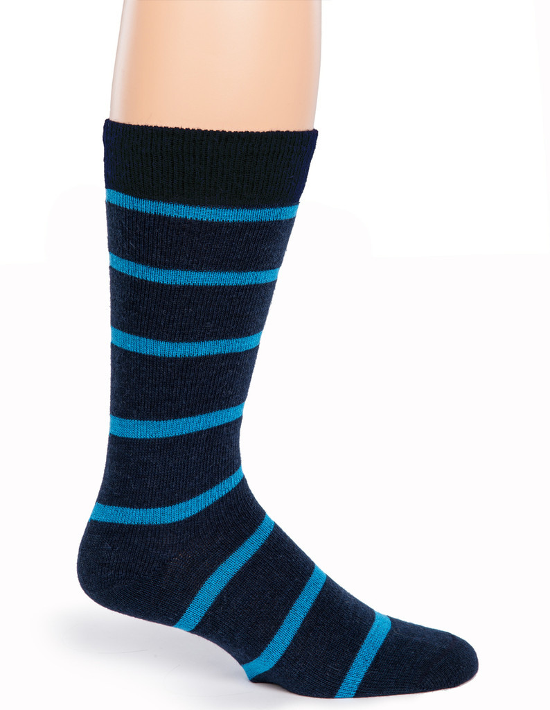 Alternating Stripe Socks - Side