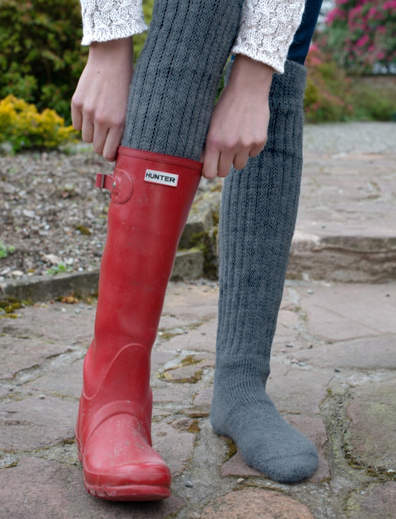 Second to None - Thick Alpaca Boot Socks Lifestyle