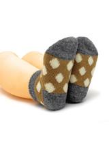 Baby Alpaca Spot On Anklet - Infant & Toddler Socks Bottom View
