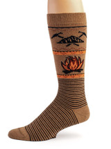 Campfire Alpaca Wool Socks - Unisex Side View