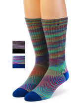 High Frequency 100% Baby Alpaca Dress Socks -Space Dye Main Thumbnail