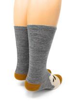 Happy Alpaca Family- Non-Skid Alpaca Socks for Children Adult Size S & M Sock Heel