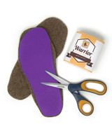 Felted Alpaca Insoles & Liners for Shoes & Boots Main