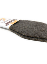 Felted Alpaca Insoles & Liners for Shoes & Boots Side