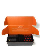 Warrior 100% Alpaca Socks Found Hearts Gift Box