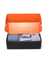 Men's Work From Home Cozy Sock Box Gift Set