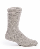 Toasty Toes Comfort Band - Ultimate Alpaca Wool Socks Inside View