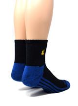 High Performance Quarter Crew Athletic Sox - Warrior Alpaca Socks Heel / Back
