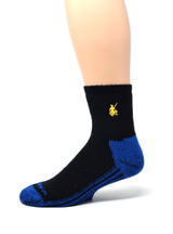 High Performance Quarter Crew Athletic Sox - Warrior Alpaca Socks Side