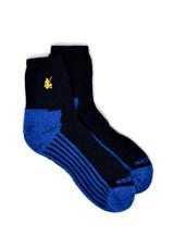 High Performance Quarter Crew Athletic Sox - Warrior Alpaca Socks Flat
