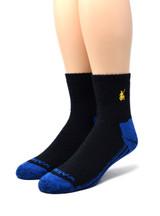 High Performance Quarter Crew Athletic Sox - Warrior Alpaca Socks Toe / Front