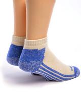 High Performance Shorty Athletic Alpaca Socks Back