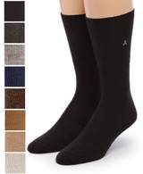 Baby Alpaca Dress Socks Front showing color options
