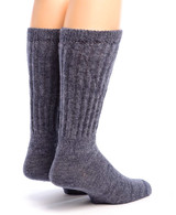 Therapeutic Alpaca Socks Back Denim