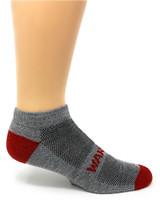 Warrior Alpaca All-Terrain Mini Crew Ankle Sport Socks Side View