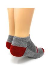 Warrior Alpaca All-Terrain Mini Crew Ankle Sport Socks Heel View