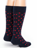 Dot Alpaca Socks - Back
