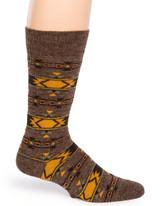 Indian Crew Alpaca Wool Socks Side