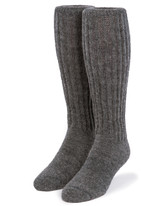 Second to None - Thick Alpaca Wool Boot Socks Front View