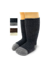 Baby Alpaca Color Block - Dye-Free Infant & Toddler Socks  Main Thumbnail View