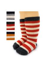 Striped Toddler Alpaca Socks  - Non-Skid Main Thumbnail View