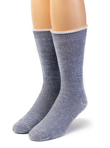 Koze Kick Back Terry Lined Alpaca Socks Front View