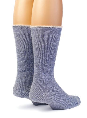 Koze Kick Back Terry Lined Socks Back View