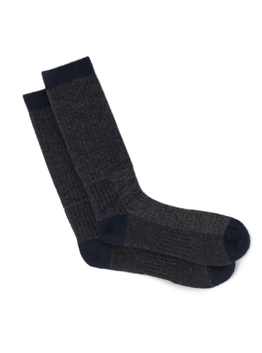Warrior Alpaca Wool Compression Work Socks  Standard Height - Flat